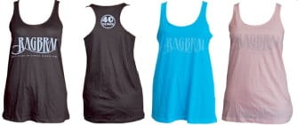 Check out the New RAGBRAI Ladies Tanks