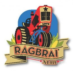 Introducing the RAGBRAI XLIII Logo!