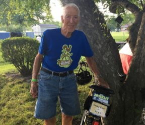 'Doing fine at 10 x 9': Meet Clarence Boesenberg, a 90-year-old rider