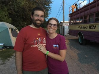 Love at first RAGBRAI: An engagement story