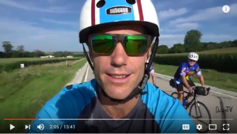 Adventure Traveler's Video Captures the Essence of RAGBRAI